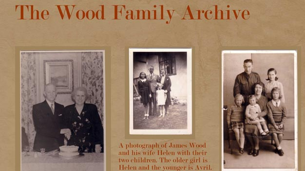 Photographs of the Wood family.
