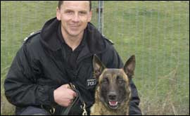 PC Mick Leigh and Blitz