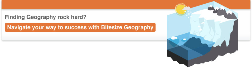 Finding Geography rock hard? Navigate your way to success with Bitesize Geography