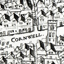 Detail from copperplate map of 1559