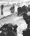 British infantry at Sword Beach