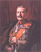 Painting of Wilhelm II, German ruler, 1888 - 1918