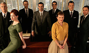 The cast of Mad Men season one