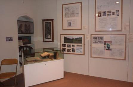 The exhibition at the museum includes costumes and art work from the film plus early drafts of Sheers' novel