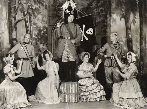 The first Pirates of Penzance play