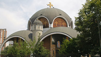 St. Kliment Ohridski Church, Skopje © BBC. St. Kliment Ohridski Church (St Clement of Ohrid) in Skopje, Macedonia.