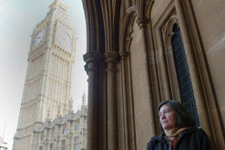 Image: Clare Short at Westminster