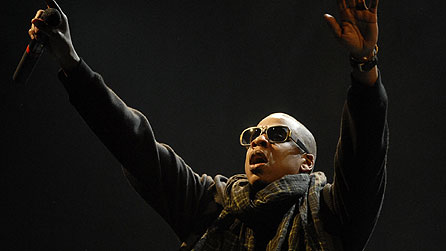 Jay-Z at Glastonbury 2008