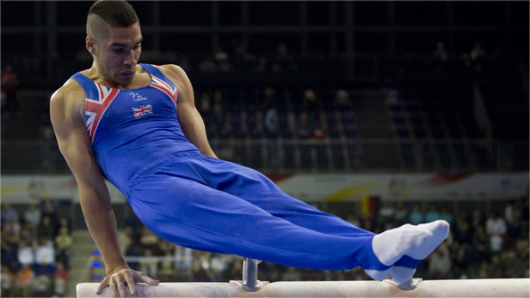 British gymnast Louis Smith believes a European Games could improve his chances of Olympic success. Photo: AP
