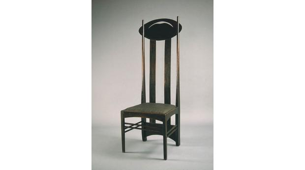 bbc a history of the world object charles rennie mackintosh chair. Black Bedroom Furniture Sets. Home Design Ideas