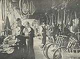 Victorian cycle machine shop
