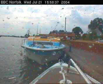 A rainy day on the Norfolk Broads