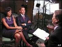 Michelle and Barack Obama on 60 Minutes