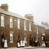 Image of a 19th-century street in Freckleton