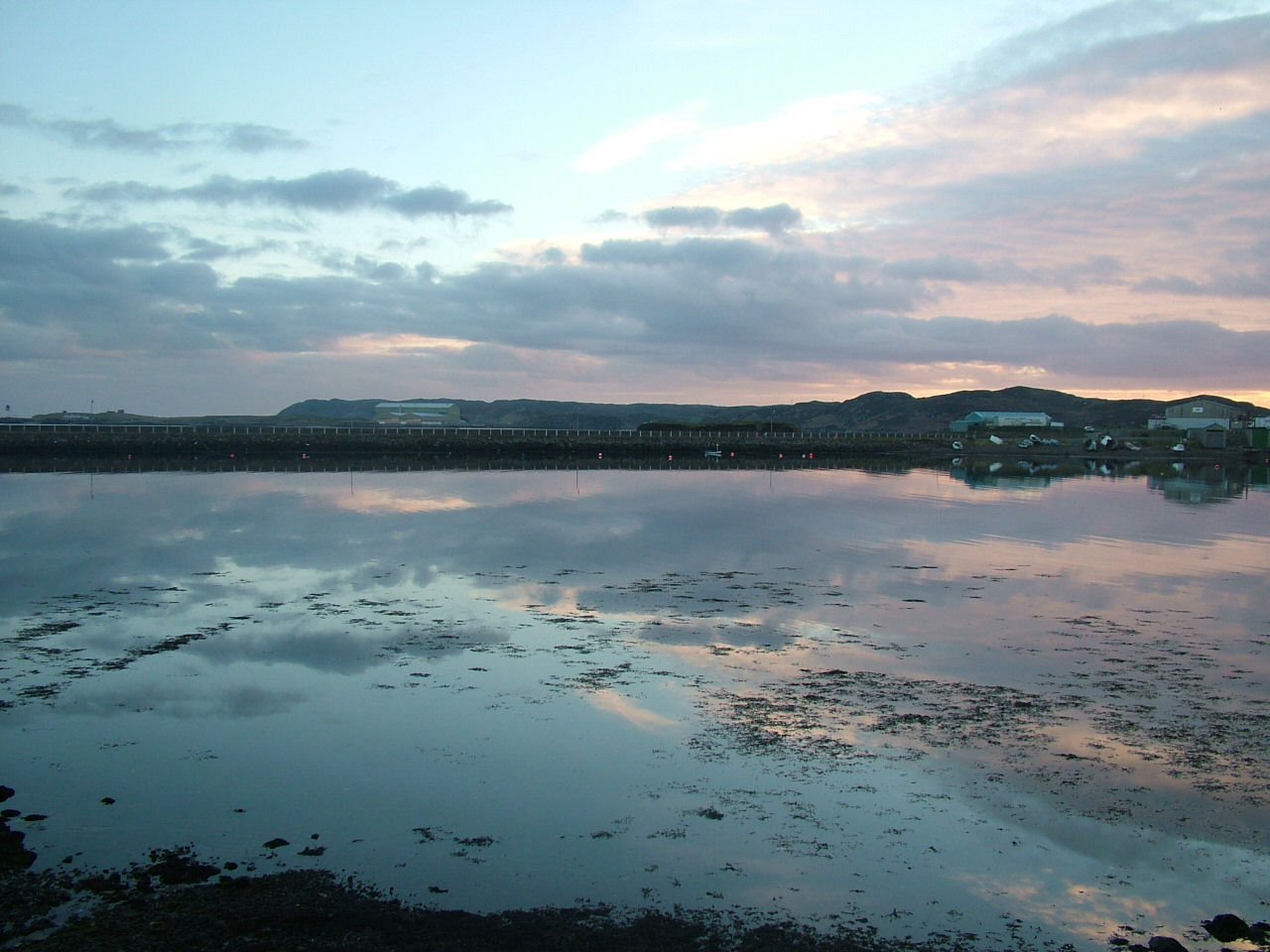 9 Feb: Cloudscapes reflected in Newton Basin (16.39)