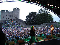 At Dudley Castle, 2006