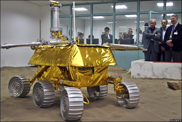 Prototype Chinese Moon rover
