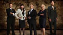 Duncan Bannatyne, Hilary Devey, Theo Paphitis, Deborah Meaden and Peter Jones welcome more entrepreneurs into the Dragons' Den