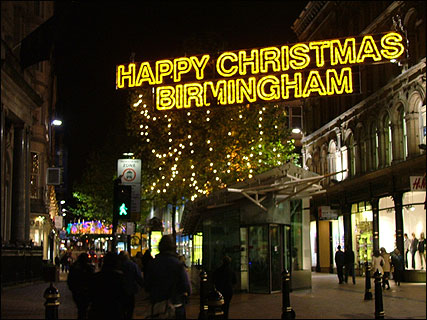 BBC - Birmingham - In Pictures - Christmas lights gallery