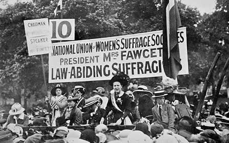 BBC - Higher Bitesize History - Women's suffrage movement : Revision