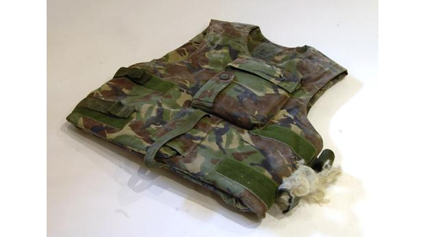 Black Watch armoured vest  (Image by Frank Proctor) © The Museum of The Black Watch