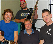 Ben Griffith and his band with JG