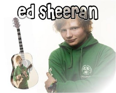 Ed Sheeran CD Cover