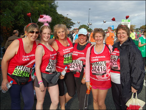 Leukaemia Care runners