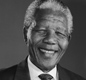 A portrait of Nelson Mandela taken while he was president.