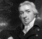 A portrait of Edward Jenner who worked as a country doctor in the west of England.