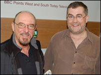 Ian Anderson and Mark O'Donnell