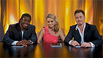 Judges Ade Adepitan, Ola Jordan and James Jordan have to send another couple home