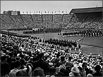 The opening ceremony in London 1948