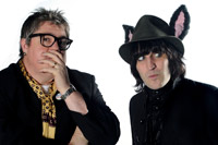 Phill Jupitus and Noel Fielding