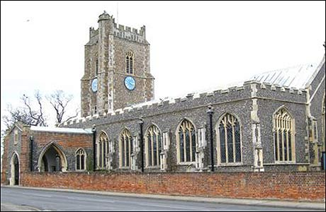 St Peter and St Paul Church, Aldeburgh