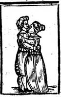 Image of a man and woman embracing