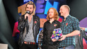 Winners - Biffy Clyro collect the Best Single Teen Award