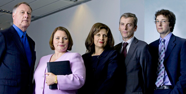 The Thick of It team
