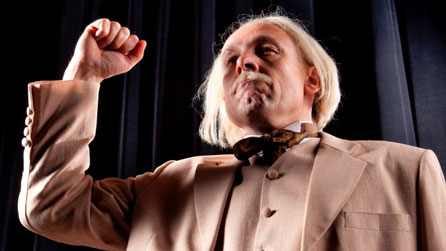Richard Elfyn as David Lloyd George. Photo: James Davies