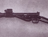 Sten gun with silencer