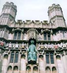 Photograph showing Canterbury Cathedral