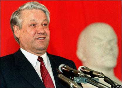 ministre russe de eltsine