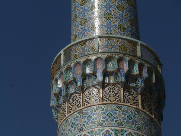 Friday mosque minaret