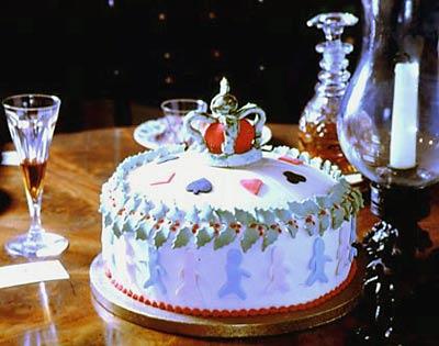 georgian and regency - British Christmas Cake Decorations