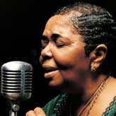 Cesaria Evora nominated in the Africa category: credit - Joe Weurfel.