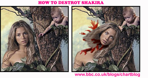 How To Destroy Shakira