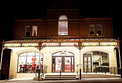Exterior of newly refurbished Theatr Colwyn in 2011. Photographer: Paul Sampson