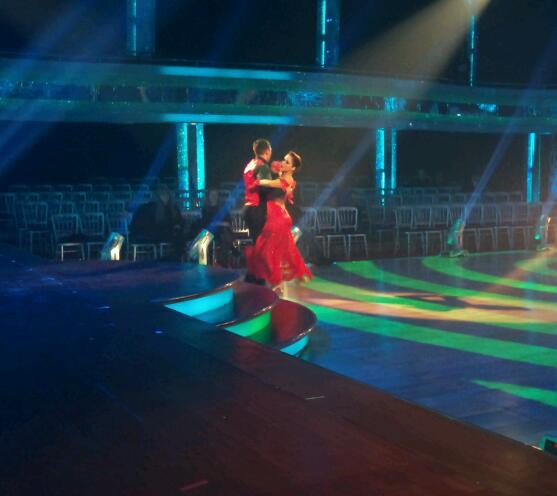 Gavin Henson and Katya Virshilas in Dress Rehearsals for Strictly Come Dancing