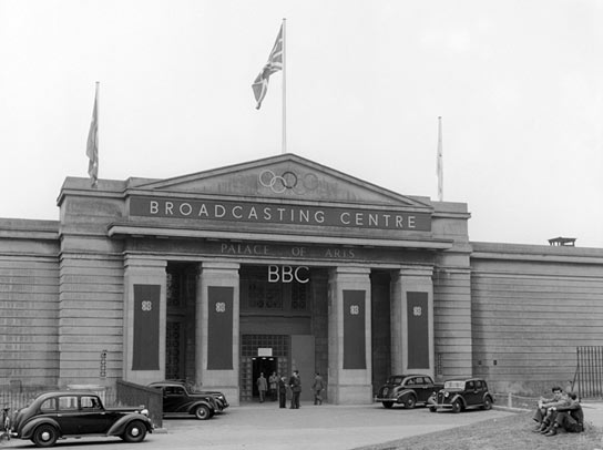 The BBC Broadcasting Centre for the 1948 Olympics.