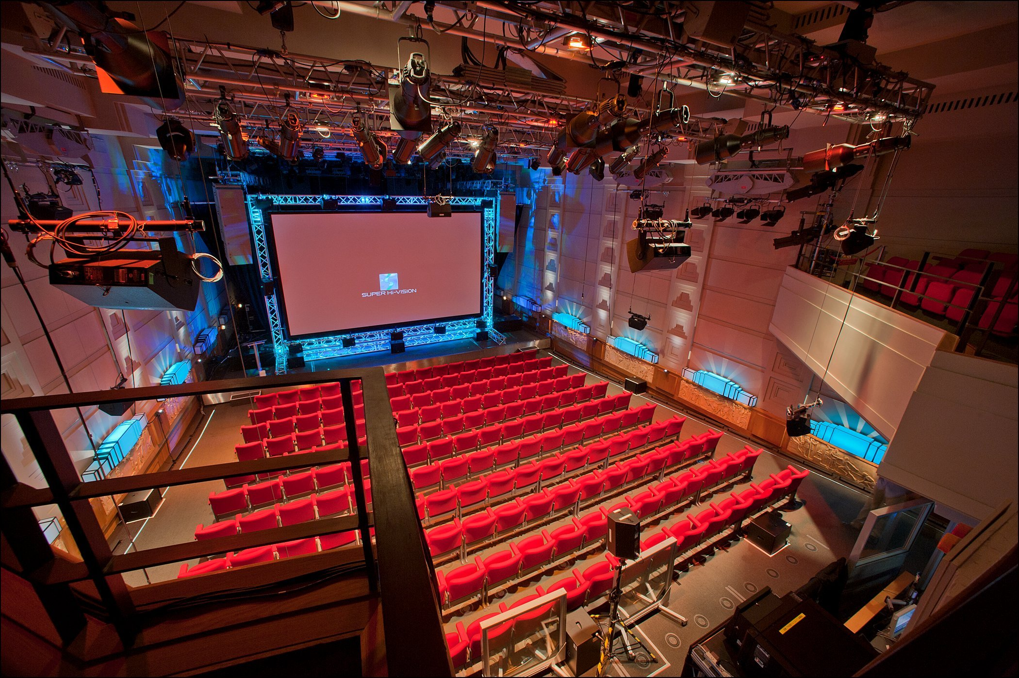 The Broadcasting House Radio Theatre with Super Hi Vision installed for the Olympics